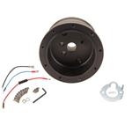 GT Performance 20-5502 GT9 GM Steering Wheel Adapter Hub, Black Anodized