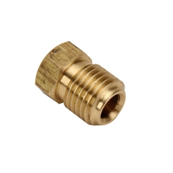3/8 Inch-24 Inverted Male Flare Plug for Master Cylinder Ports