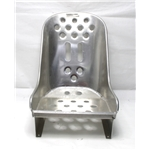 Garage Sale - Speedway Lightened Aluminum Hot Rod Bomber Seat