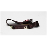 Garage Sale - Push Button Lap Seat Belt, Maroon