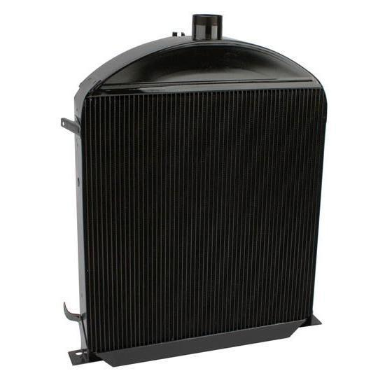 Walker C-487-2 Cobra 1930-1931 Ford Model A Radiator for Chevy Engine