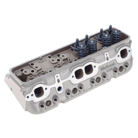 New World Products Motown 220 Iron Cylinder Heads, Race