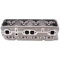 World S/R Small Block Chevy Cylinder Heads, Straight Plug, 2.02/1.60 Valves