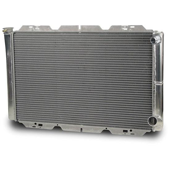 AFCO 80102NDP-16 32 Inch Double Pass Racing Radiator, -16 AN Inlet