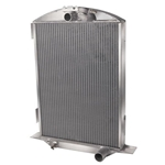 AFCO 1932 Ford Aluminum Radiator, Chevy Engine