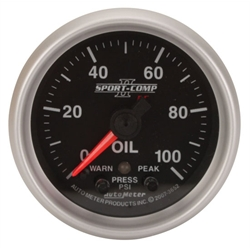 Auto Meter 3652 2-1/16 Inch Oil Pressure Gauge