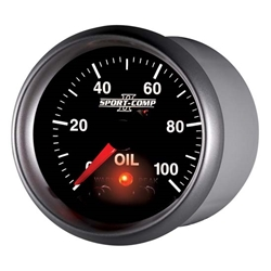 Auto Meter 3652 Sport-Comp II Digital Stepper Motor Oil Pressure Gauge