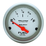 Auto Meter 4317 Ultra-Lite Air-Core Fuel Level Gauge, 2-1/16 Inch