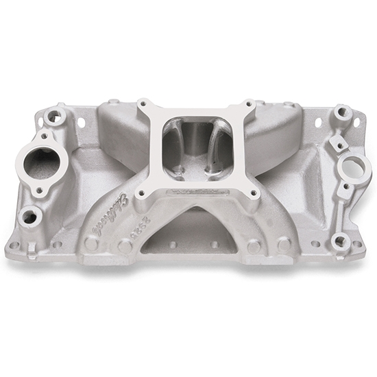 Edelbrock 28251 Super Victor CNC Intake Manifold, Small