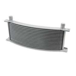 Earls 91606ERL 16 Row Oil Cooler Core, -6 AN Male Fitting, Gray Wide