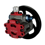 KRC 63201000 Pro Series Aluminum Power Steering Pump w/ V-Belt Pulley
