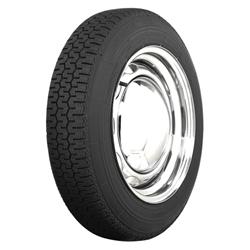 Coker Tire 57100 Michelin XZX Radial Tire, 145SR15