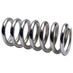 "Garage Sale - Chrome 9 Inch Coil Spring, 2-1/2"" 350 lbs."