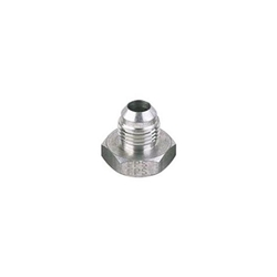 Male Aluminum 37 Degree AN Flare Weld Bung Fitting, -6 AN