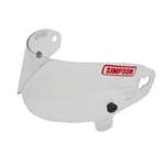 Simpson 89600A Outlaw Bandit Helmet Shield, Clear
