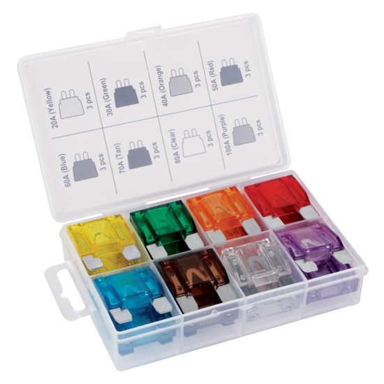 Titan Tools 45232 24-Piece Maxi Fuse Assortment