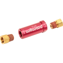 Wilwood 260-13784 Red 10 PSI Residual Pressure Valve with Fittings