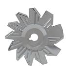 Chrome Steel Alternator Fan