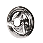 Speedway Disc Brake Hubcap w/ Spinner for GM Rally Style Wheels