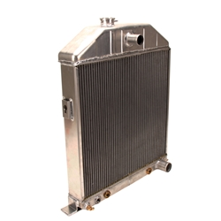 Griffin 7-70099 Dlx Alum Radiator for 42-48 Ford Chassis w/ S/B Chevy