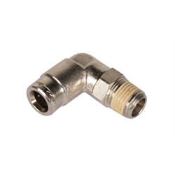 Steel 90 Degree Wing Cylinder Push-Lock Hose End Fitting