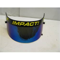Garage Sale - Impact! Racing Iridium Shield, Fits Vapor & Charger Helmets