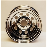 Garage Sale - Speedway IMCA Approved 15 Inch Chrome Wheel, 15x8, 5 on 4-3/4, No Beadlock