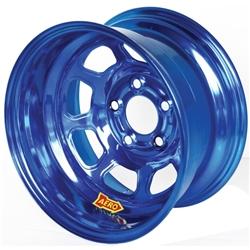 Garage Sale - Aero 58-985040BLU 58 Series 15x8 Wheel, SP, 5 on 5 Inch, 4 Inch BS