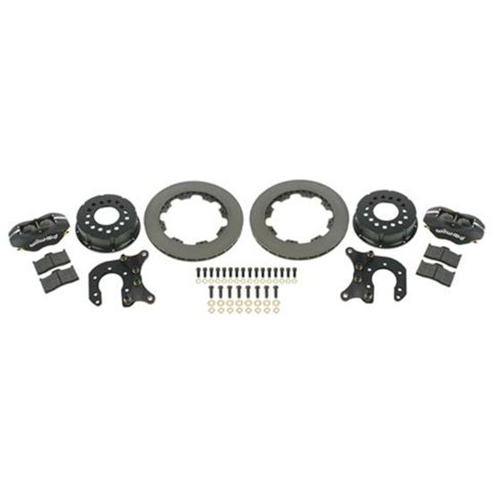 Wilwood 140-2111-B Rear Brake Kit - Olds/Pontiac, 2.81 Offset