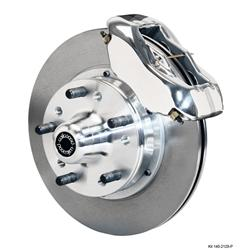 Wilwood 140-11013-P Pro Series Front Disc Brake Kit, 1937-49 Ford