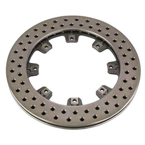 Wilwood 160-5864 Cast Iron Drilled Brake Rotor, 11.75 x 1.25 Inch