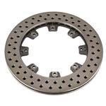 Wilwood 160-5865 Cast Iron Drilled Rotor, 12.19 x .81 Inch