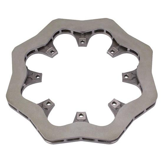 Wilwood 160-8136 Cast Iron Scalloped Brake Rotor, 12.19 x .81 Inch