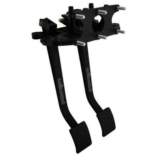 Wilwood 340-3342 Reverse Swing Triple Master Cylinder Pedal, 6.25:1