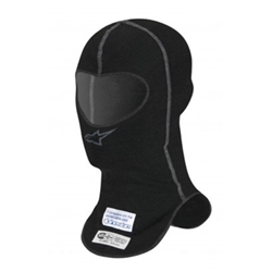 Garage Sale - Alpinestars 4754813 Black Lenzing Underwear Balaclava Hood-Single Slot