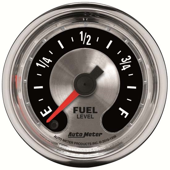 Auto Meter 1209 American Muscle Digital Stepper Motor Fuel Level Gauge