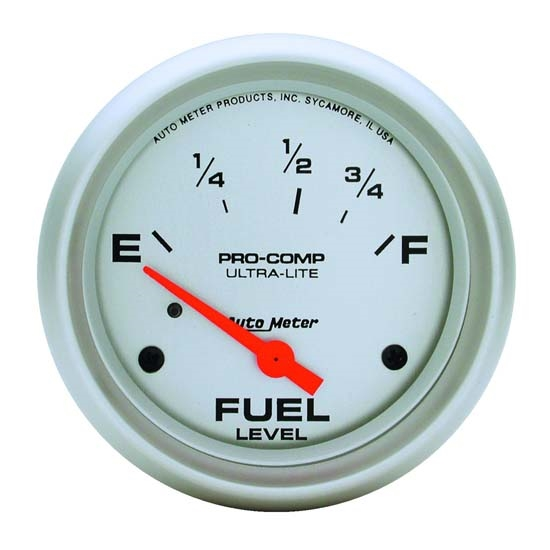 Auto Meter 4415 Ultra-Lite Air-Core Fuel Level Gauge, 2-5/8 Inch