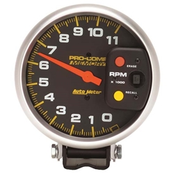Auto Meter 6811 Pro-Comp Air-Core Pedestal Tachometer, 11k RPM, 5 Inch