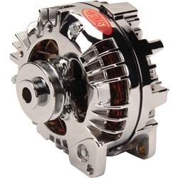 Powermaster 82011 PowerGEN Alternator, 90 Amp, Chrome, Chrysler