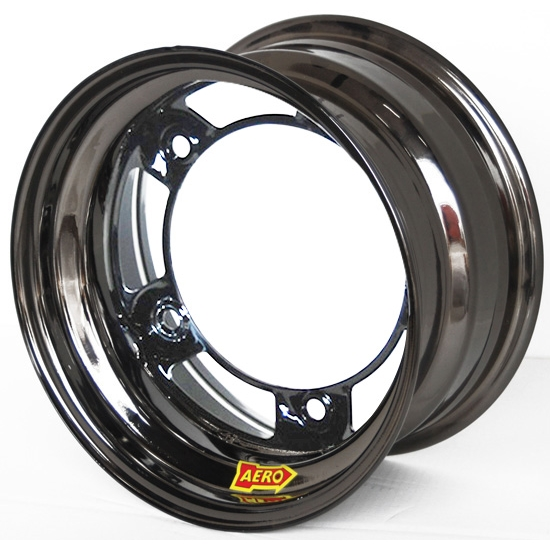 Aero 51-980530BLK 51 Series 15x8 Wheel, Spun, 5 on WIDE 5, 3 Inch BS