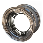 Aero 53-980520BLK 53 Series 15x8 Wheel, BL 5 on WIDE 5, 2 Inch BS IMCA