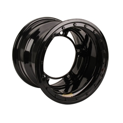 Bassett 50SR3L 15X10 Wide-5 3 Inch BS Black Beadlock Wheel