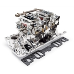 Edelbrock 20264 RPM Air-Gap Dual-Quad Intake Manifold/Carburetor Kit