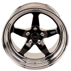 Weld Racing 71HB-8100B56A 18 In. RT-S71 Rear Wheel For G-Comp Nova