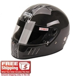 G-Force SA2010 CFG Full Face Racing Helmet, Carbon Fiber-Large