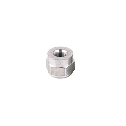 Threaded Aluminum Weld Bung Fitting, 1/8 Inch NPT Female