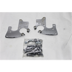Garage Sale - Total Performance Caliper Bracket For 1937-41 Ford Spindles, With Fender Mount