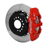 Wilwood 140-10941-R AERO4 Rear Brake Kit, Chevy C-10, 2.42 Off 5-lug