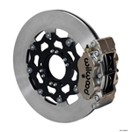 Wilwood 140-13496 NDL Radial Mount Rear Brake Kit, 11.75 Vented Rotor
