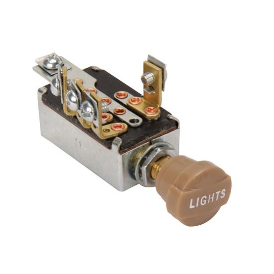 Billet Headlight Switch Universal Headlight Switch
